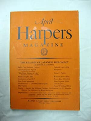 Harper's Magazine - April 1932 short story