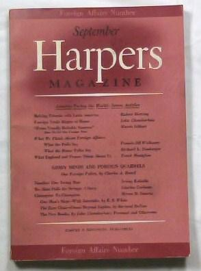 Harper's Magazine - September 1939