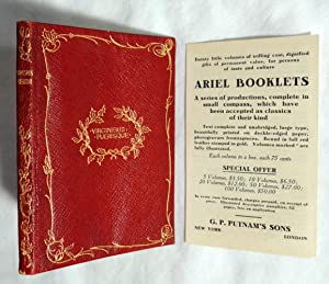 Virginibus Puerisque by Stevenson, Robert Louis, Ariel Booklet Catalog 1910: Stevenson, Robert ...