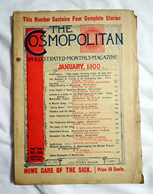 Cosmopolitan Magazine Jan. 1900 Home Care of the Sick; 4 Complete Stories