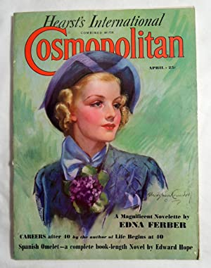 Cosmopolitan Magazine April 1937 Edna Ferber Novel; B. Crandell Cover Art