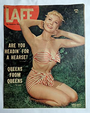 Laff Magazine April 1948 Adele Mara, Sidrone Pin-up, Queens From Queens