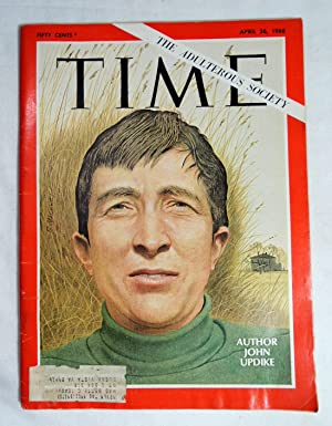 Time Magazine April 26 1968 The Adultrous Society Author John Updike