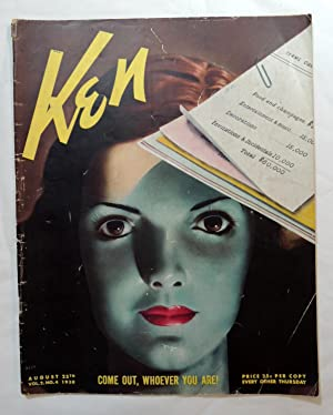 KEN The Insider's World Magazine August 25th, 1938 VOL. 2. NO. 4