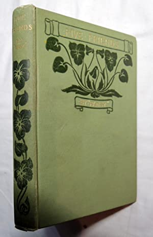 Five Friends by Pansy - D Lothrop Co., Boston 1893 Green cloth hardcover w/ gilt titles;: ...