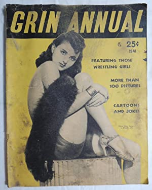 Grin Annual Magazine Cheesecake Girl Pulp 1941 Gipsy Nina cover; Elite Publ.