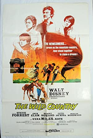 Walt Disney's The Wild Country Movie Poster Ron Howard 1971 Little Britches, Ralph Moody