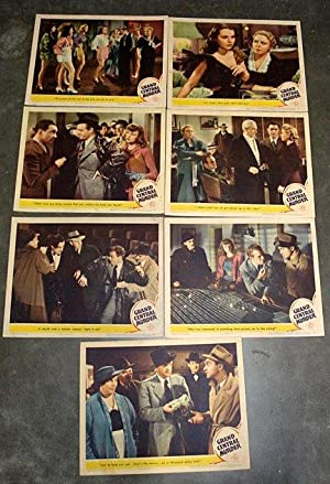GRAND CENTRAL MURDER LOBBY CARD SET 1942 GRAND CENTRAL STATION, NY