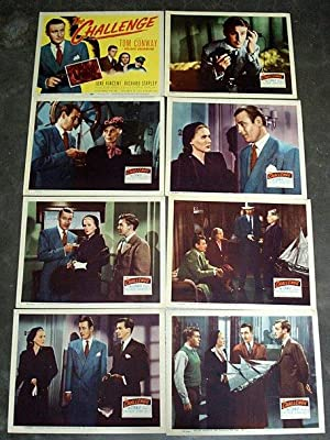 Tom Conway THE CHALLENGE, LOBBY CARD SET 1948 atrick Aherne, Oliver Blake, James Fairfax, Leyland...