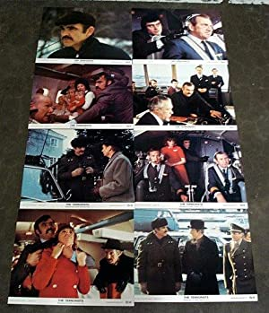 THE TERRORISTS - LOBBY CARD SET 1975 SEAN CONNERY, Ian McShane