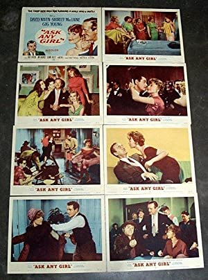 'Ask Any Girl' - Lobby Card Set 1959 David Niven & Shirley MacLaine