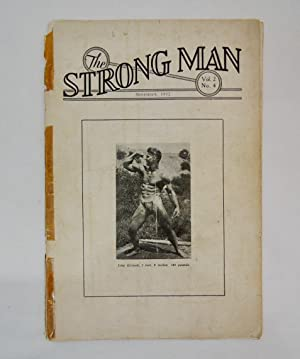 The Strong Man Vol 2 No 4 1932 Milo Publishing; Weightlifting; John Grimek cover