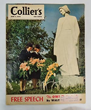 Collier's Magazine June 3, 1944 US Army WACS Women's Army Corps cover