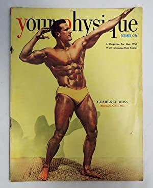 Your Physique Magazine October 1950 Clarence Ross Mr. America & Mr. USA;
