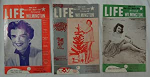 Lot 3 Original 'Life Around Wilmington' magazines 1950's local Cape Fear