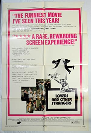 1970 LOVERS and OTHER STRANGERS - MOVIE POSTER STEPHANIE SILLS, BEATRICE ARTHUR, MICHAEL BRANDON
