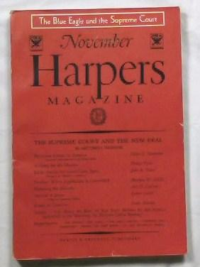 Harper's Magazine - November 1933