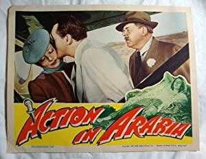 Action In Arabia - Lobby Card 4 George Sanders