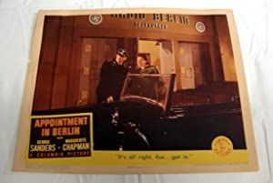Appointment In Berlin Lobby Card 2 1943 Marguerite Chapman, Onslow Stevens