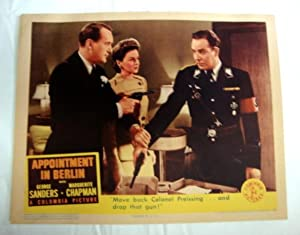 Appointment In Berlin Lobby Card 4 1943 Marguerite Chapman, Onslow Stevens