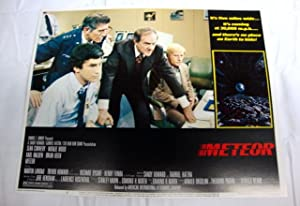Meteor Lobby Card 4 1979 Sean Connery, Karl Malden, Natalie Wood