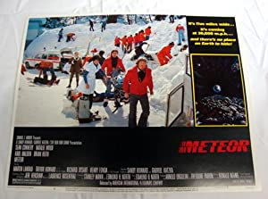 Meteor Lobby Card 6 1979 Sean Connery, Karl Malden, Natalie Wood