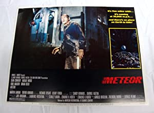 Meteor Lobby Card 7 1979 Sean Connery, Karl Malden, Natalie Wood