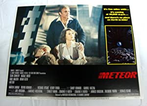 Meteor Lobby Card 8 1979 Sean Connery, Karl Malden, Natalie Wood