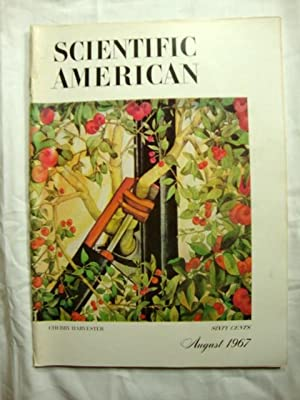 Scientific American Magazine AUGUST 1967