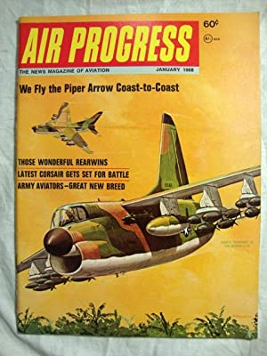Air Progress Aviation Review Magazine (January, 1968)