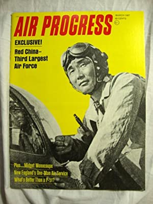 Air Progress Aviation Review Magazine (March, 1967)