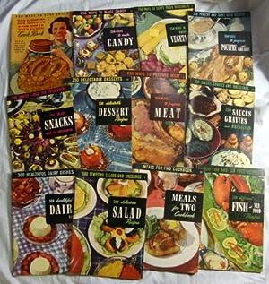 1949 Culinary Arts Institute 250 Ways To Make Candy Meat Salads Save Sugar+: Ruth Berolzheimer (...