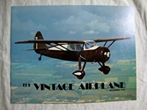 Vintage Airplane Magazine November 1979 Star Cavelier Replica