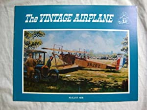 Vintage Airplane Magazine August 1976, 1918 Jenny plane