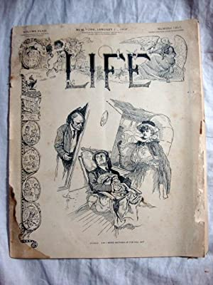 Life Magazine January 11, 1906 Franklin Car ad to back cover