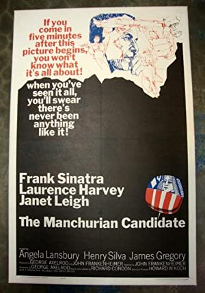 Frank Sinatra, Manchurian Candidate 1962 Linen-Backed Movie Poster