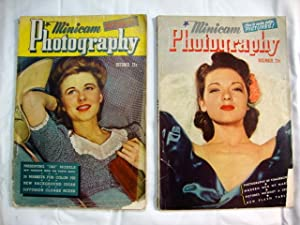 2 Minicam Photography Magazines Oct. and Dec. 1941