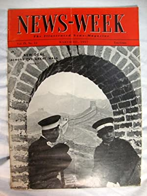 Newsweek March 20, 1937 Great Wall China