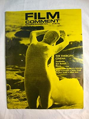 Film Comment Nov-Dec 1975 Emerging Cinema