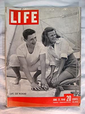 Life Magazine - June 21, 1948 -- Cover: Cape Cod Weekend