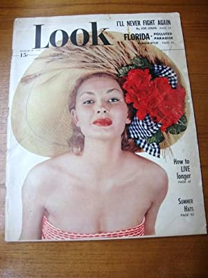 Look Magazine March 29, 1949 Summer Hats
