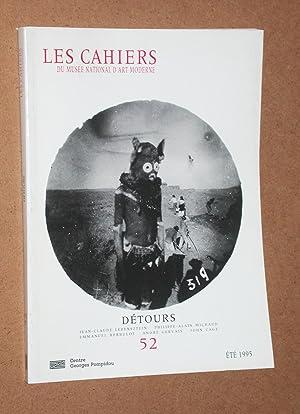 Les cahiers du Musée d'Art Moderne n.: Jean-Claude Lebensztejn, Philippe