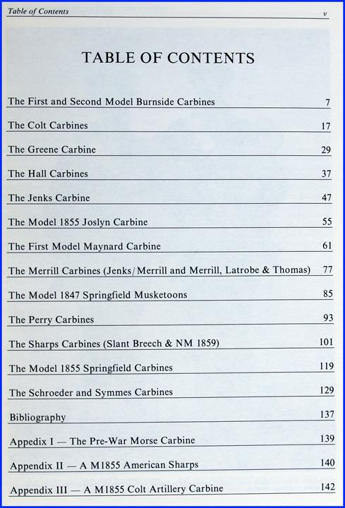 Civil War Carbines, Volume II: The Early