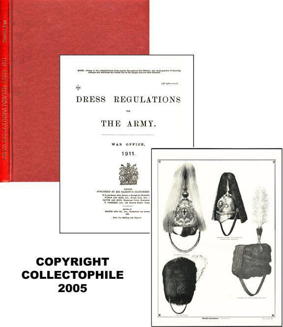 Dress Regulations of the Army, War Office
