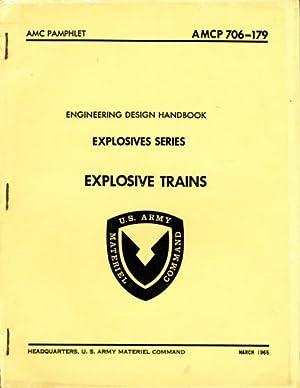 Engineering Design Handbook Explosive Series