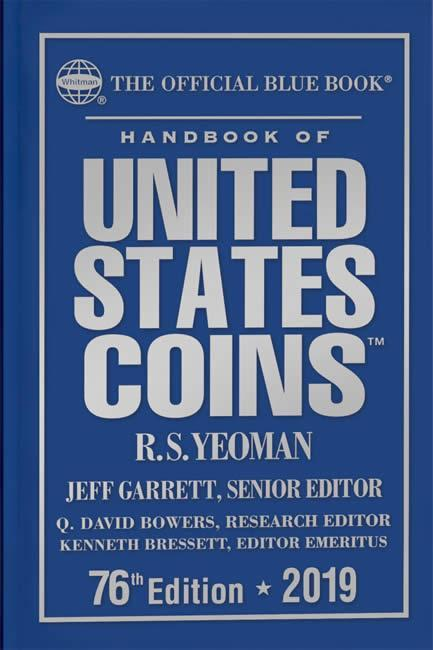 Hardcover 2018 Whitman A Guide Book of United States Coins