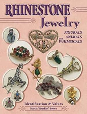 Rhinestone Jewelry, Figurals, Animals and Whimsicals Identification: Marcia 'Sparkles' Brown