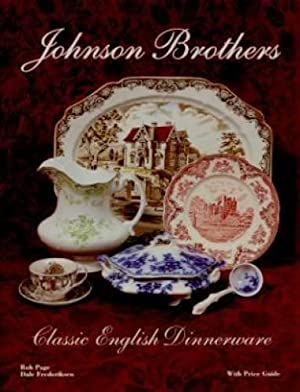 Johnson Brothers Classic English Dinnerware With Price: Bob Page &