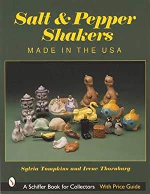 Salt & Pepper Shakers Made in the USA, With Price Guide