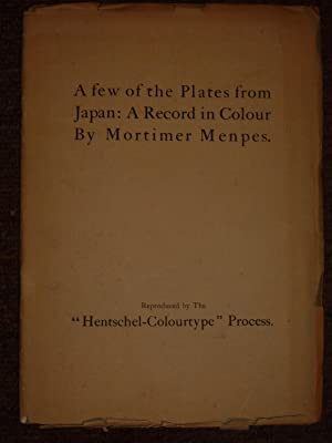 A few of the Plates from Japan: Carl Hentschel Ltd.)